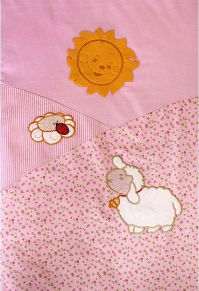 Постельное белье ЗОЛОТОЙ ГУСЬ Веселые овечки (7 предметов) (фото, вид 3)