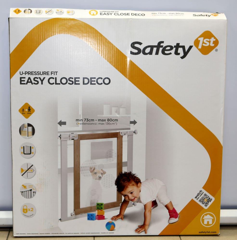 Safety1st Ворота безопасности Easy Close Deco (фото, вид 7)