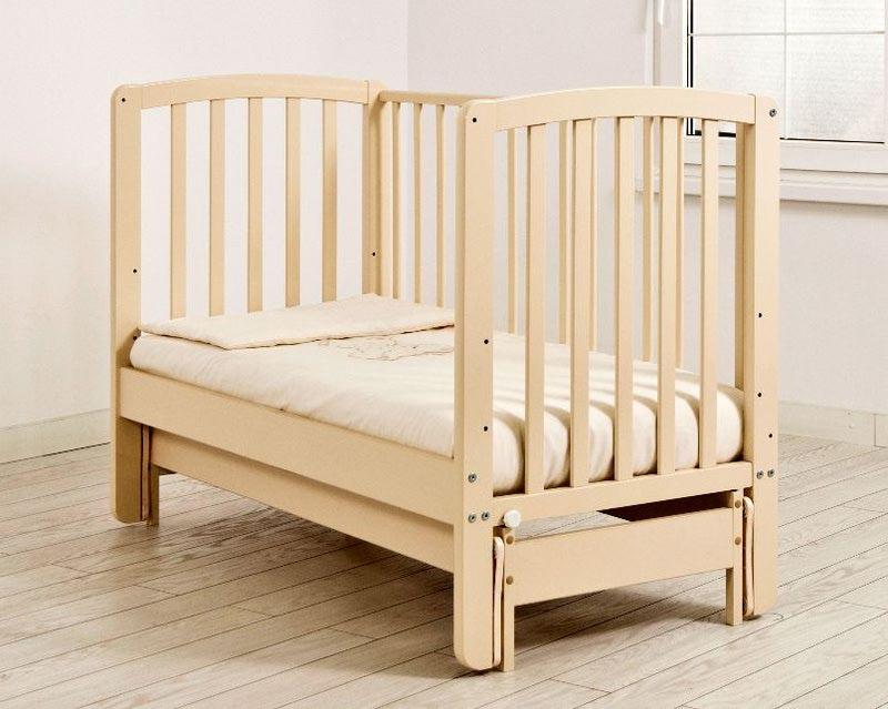 Кроватка Angela Bella (продольный маятник) (фото, вид 1)