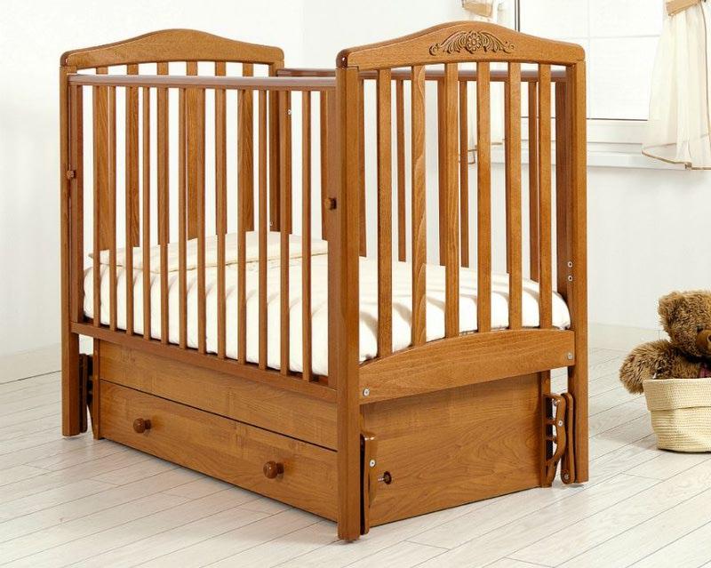 Кроватка GANDYLYAN СИМОНИК (качалка) (фото, вид 9)