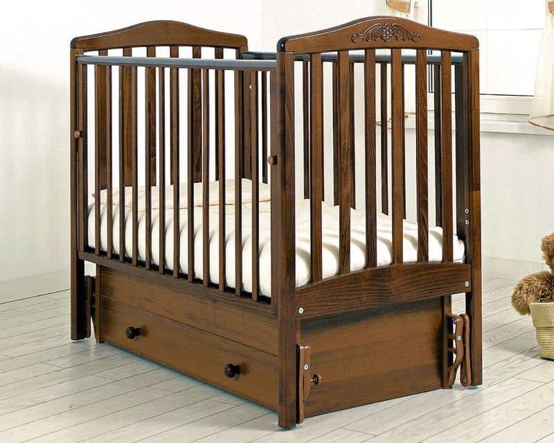 Кроватка GANDYLYAN СИМОНИК (качалка) (фото, вид 11)