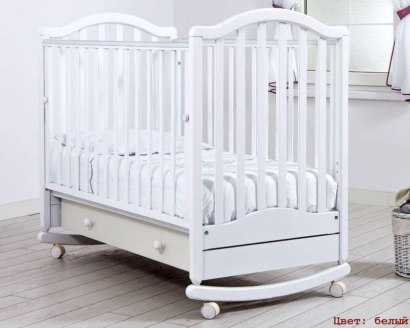 Кроватка GANDYLYAN ЛЕЙЛА (качалка) (фото, вид 2)