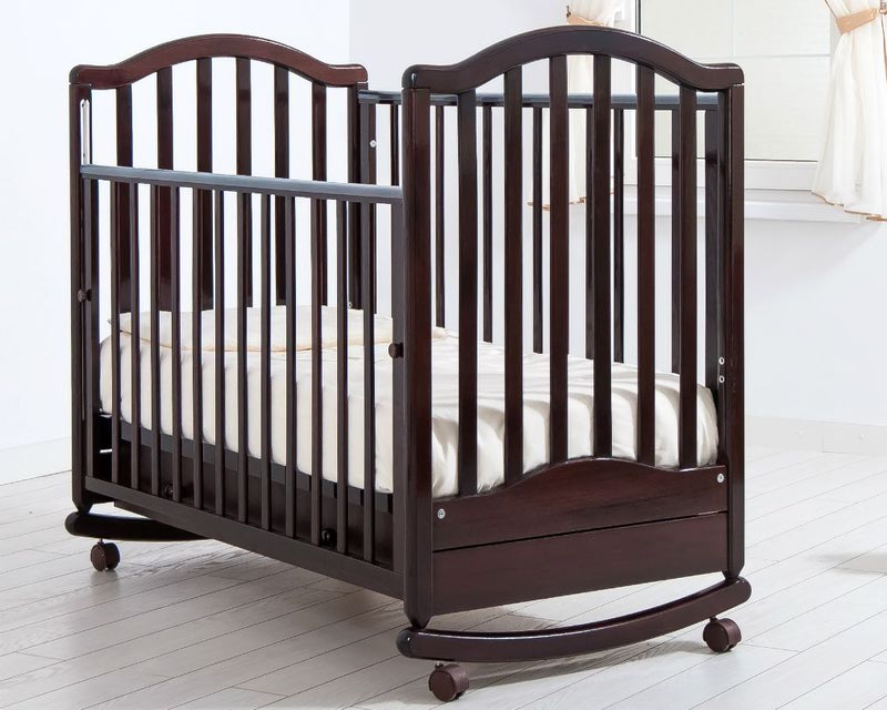 Кроватка GANDYLYAN ЛЕЙЛА (качалка) (фото, вид 3)