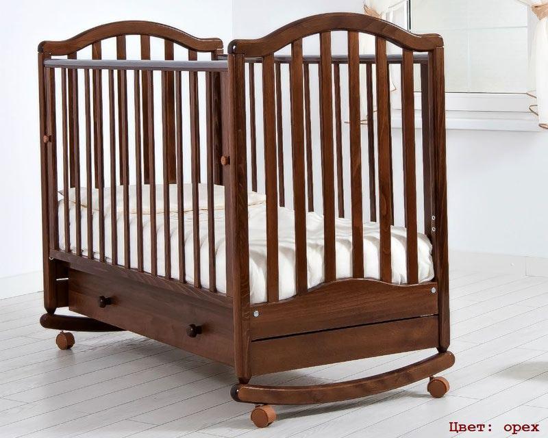 Кроватка GANDYLYAN ЛЕЙЛА (качалка) (фото, вид 5)