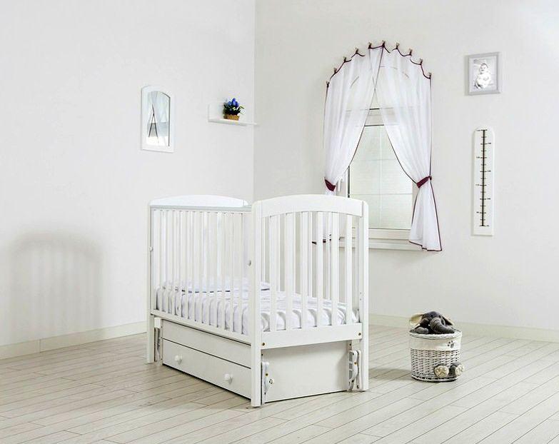 Кроватка GANDYLYAN ЧУ-ЧА (универсальный маятник) (фото, вид 1)