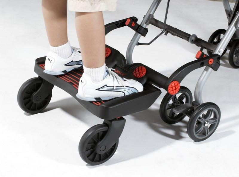 Lascal Приставка к коляске для второго ребенка (фото, вид 4)