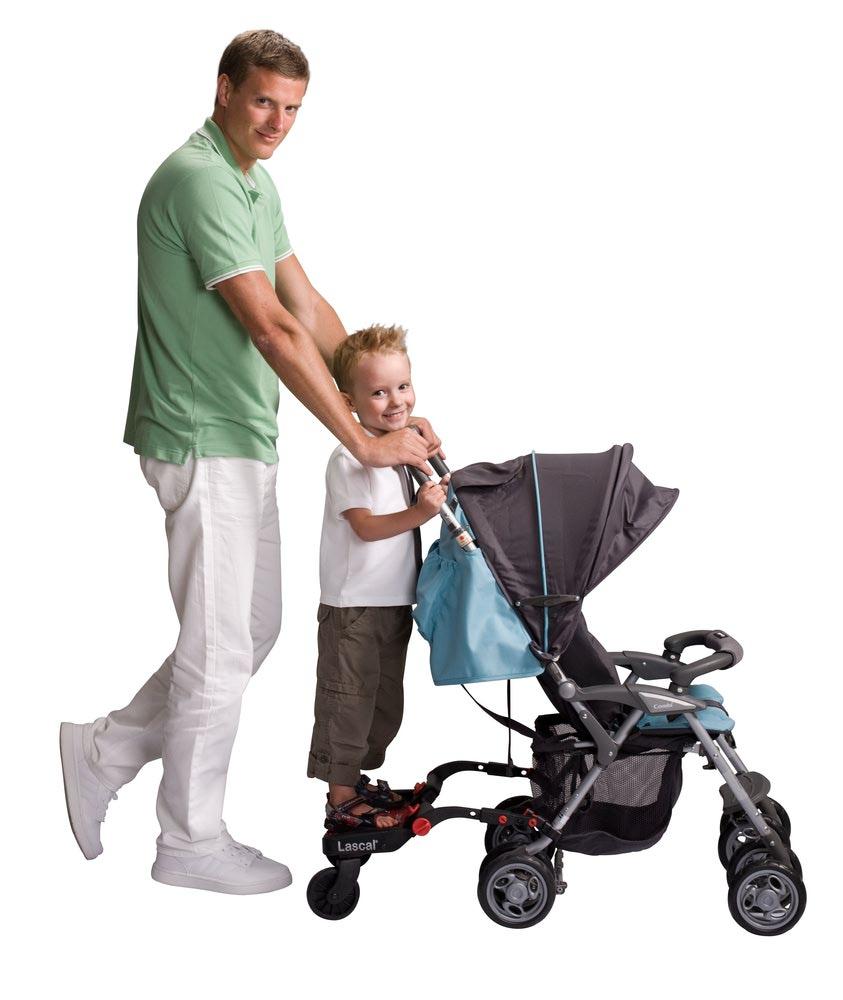 Lascal Приставка к коляске для второго ребенка (фото, вид 6)