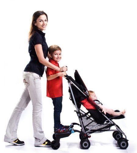 Lascal Приставка к коляске для второго ребенка (фото, вид 7)