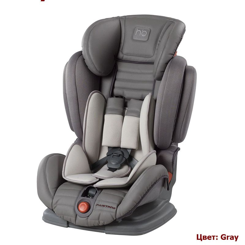 Автокресло HAPPY BABY MUSTANG (9-36 кг) (фото, вид 10)