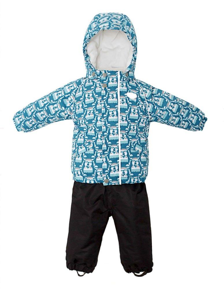 REIKE Комплект для мальчика (куртка+полукомбинезон) tweety green (фото, вид 1)