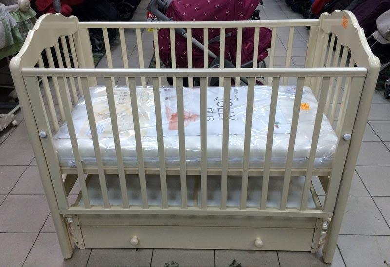 Кроватка GANDYLYAN Сюзанна (универсальный маятник) (фото, вид 2)