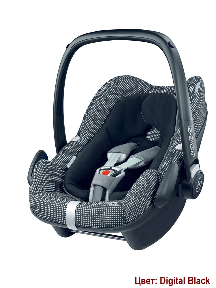 Автокресло Maxi-Cosi Pebble Plus (0-13 кг) (фото, вид 4)