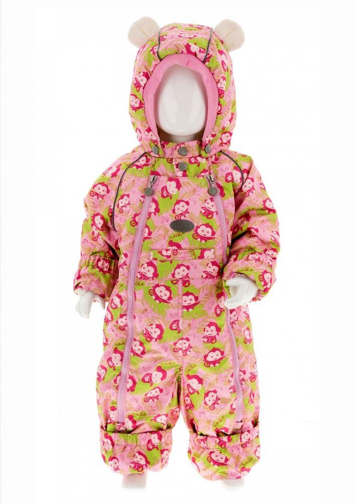 REIKE Комбинезон детский monkeys pink (фото, вид 1)