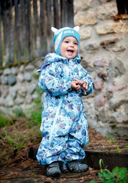 REIKE Комбинезон детский friends blue (фото, вид 5)