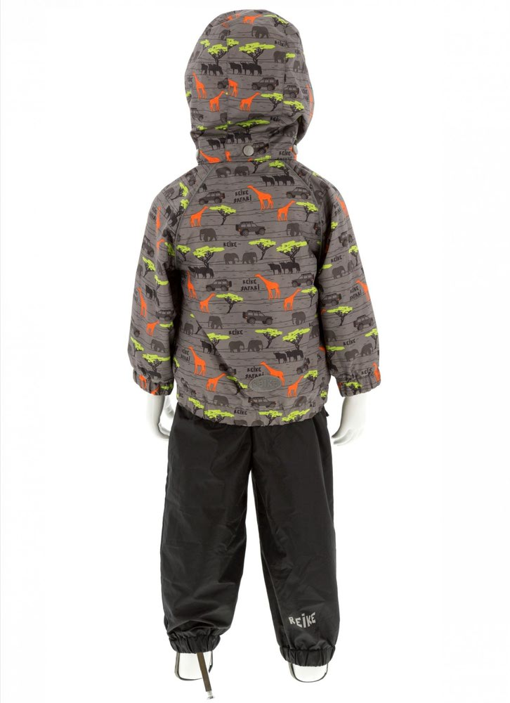 REIKE Комплект для мальчика (куртка+полукомбинезон) safari grey (фото, вид 1)