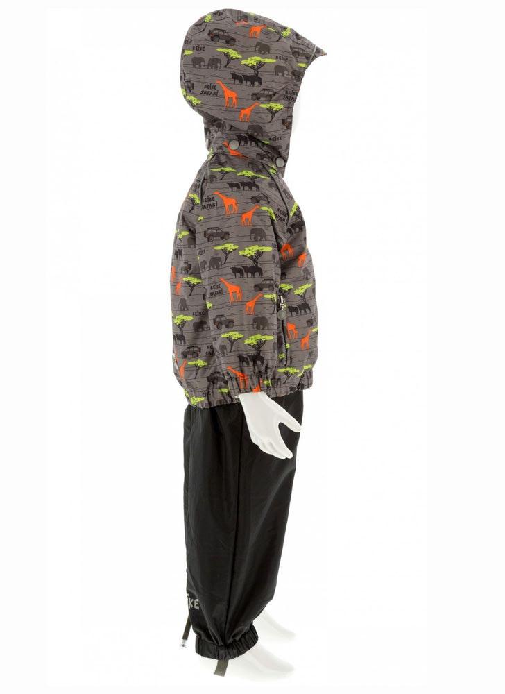 REIKE Комплект для мальчика (куртка+полукомбинезон) safari grey (фото, вид 2)