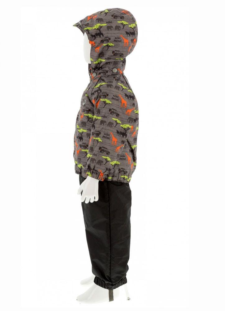 REIKE Комплект для мальчика (куртка+полукомбинезон) safari grey (фото, вид 3)