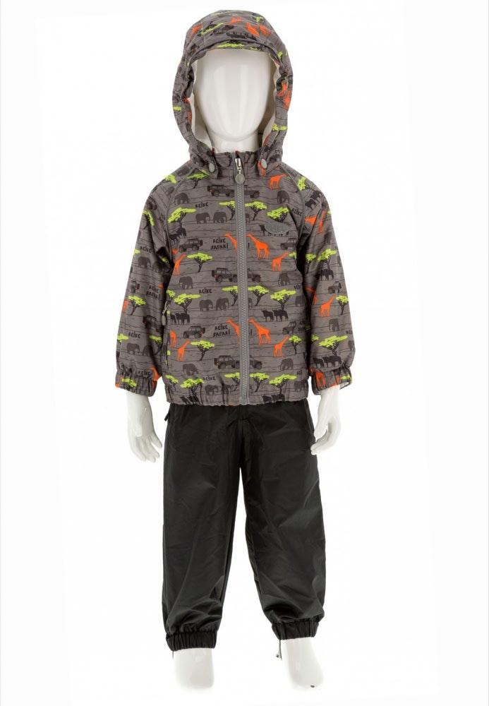 REIKE Комплект для мальчика (куртка+полукомбинезон) safari grey (фото, вид 5)