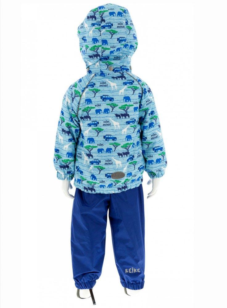 REIKE Комплект для мальчика (куртка+полукомбинезон) safari blue (фото, вид 1)
