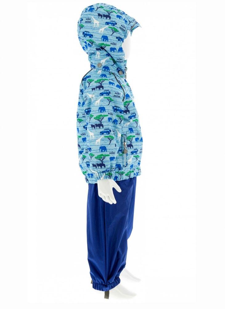 REIKE Комплект для мальчика (куртка+полукомбинезон) safari blue (фото, вид 2)