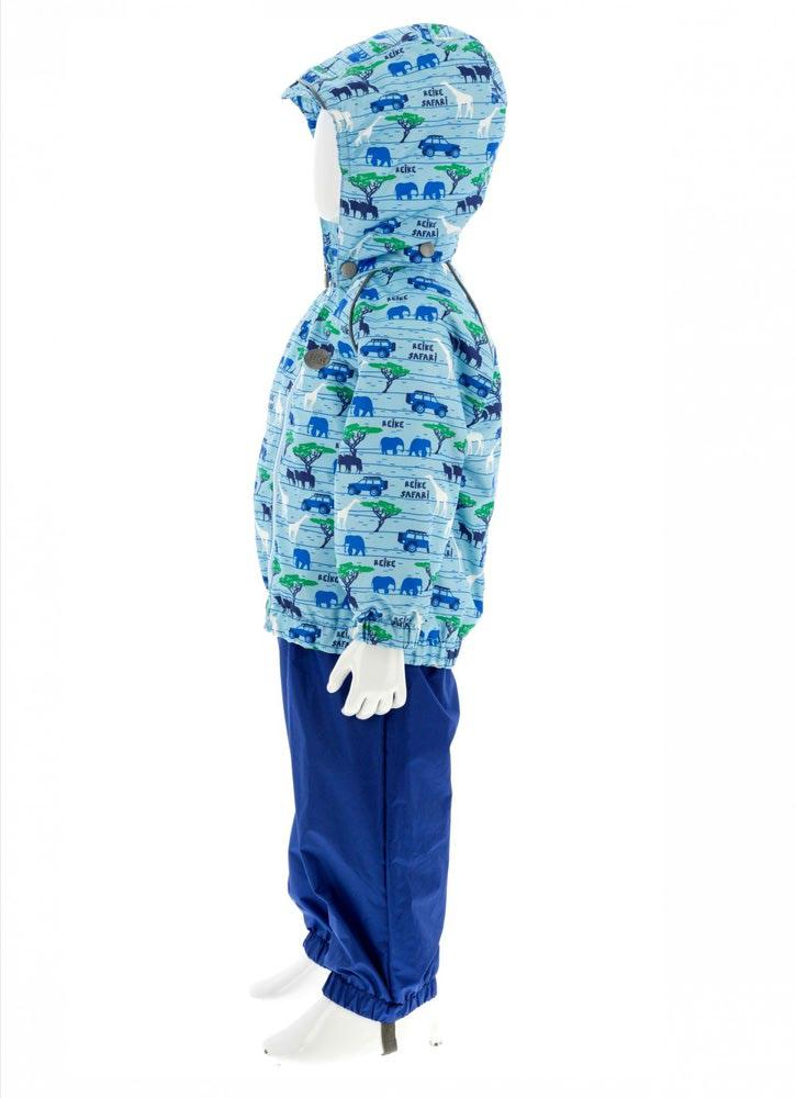 REIKE Комплект для мальчика (куртка+полукомбинезон) safari blue (фото, вид 3)