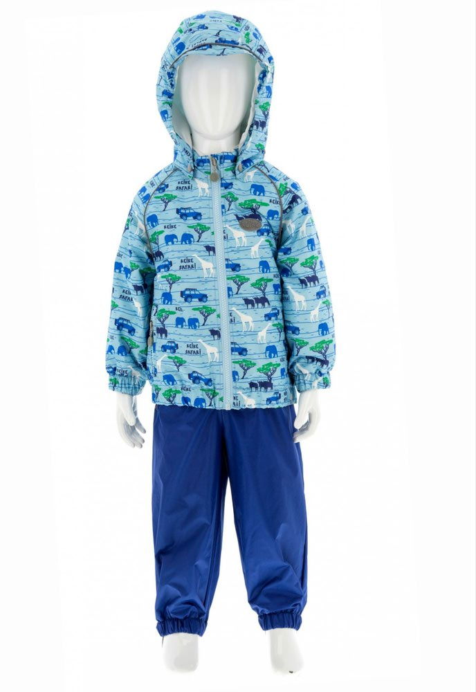 REIKE Комплект для мальчика (куртка+полукомбинезон) safari blue (фото, вид 5)