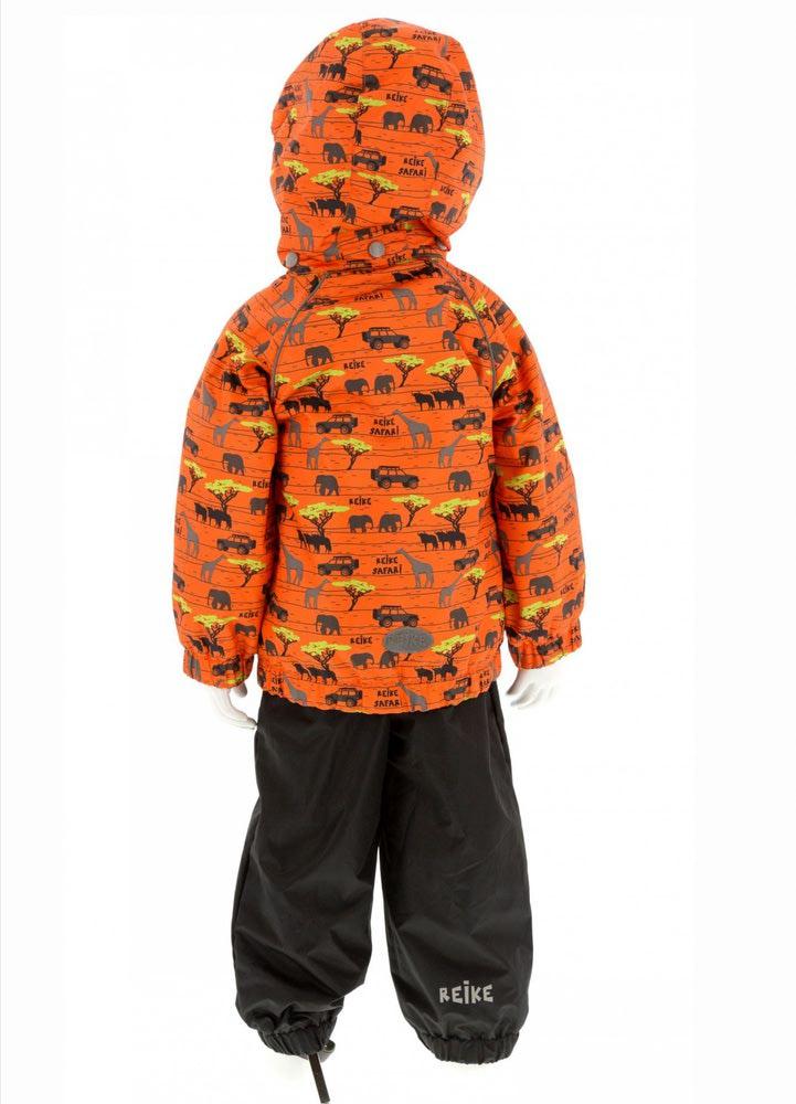 REIKE Комплект для мальчика (куртка+полукомбинезон) safari orange (фото, вид 1)