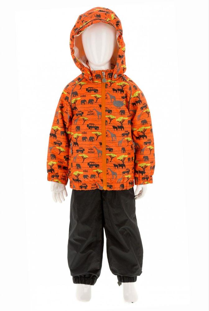 REIKE Комплект для мальчика (куртка+полукомбинезон) safari orange (фото, вид 5)