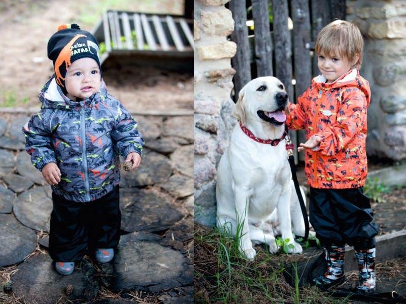 REIKE Комплект для мальчика (куртка+полукомбинезон) safari orange (фото, вид 6)