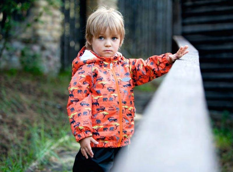 REIKE Комплект для мальчика (куртка+полукомбинезон) safari orange (фото, вид 7)