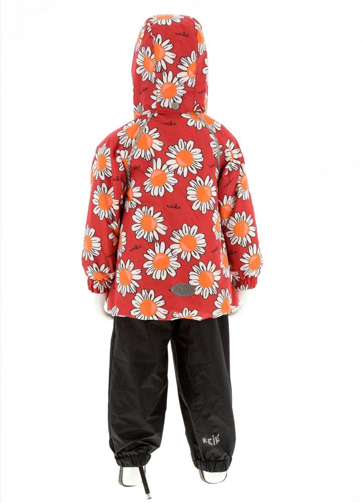 REIKE Комплект для девочки (куртка+полукомбинезон) camomile red (фото, вид 1)