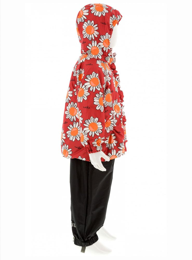 REIKE Комплект для девочки (куртка+полукомбинезон) camomile red (фото, вид 2)