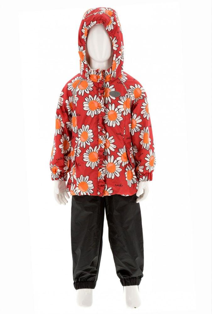 REIKE Комплект для девочки (куртка+полукомбинезон) camomile red (фото, вид 5)