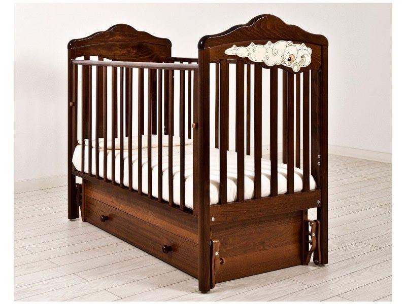 Кроватка GANDYLYAN Angela Bella Изабель (фото, вид 1)