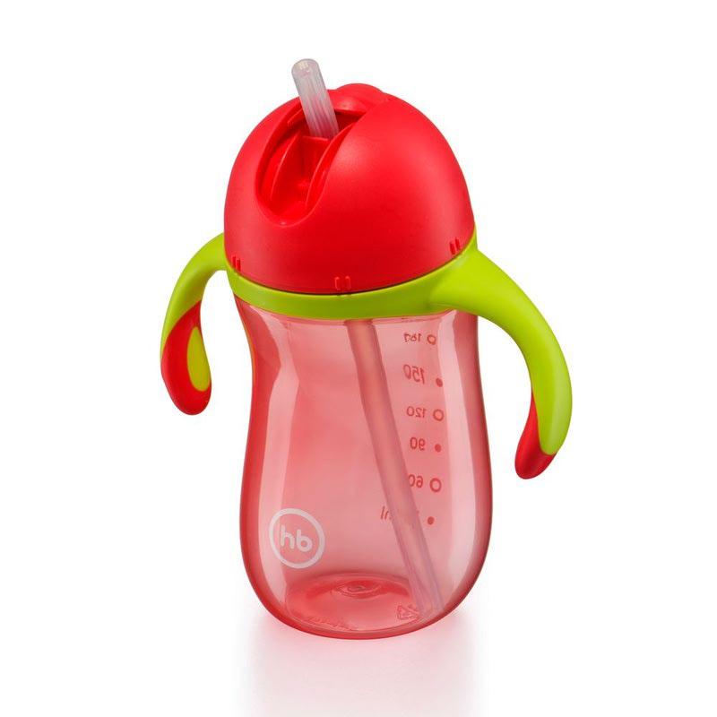 HAPPY BABY Поильник с клапаном STRAW FEEDING CUP (фото, вид 2)