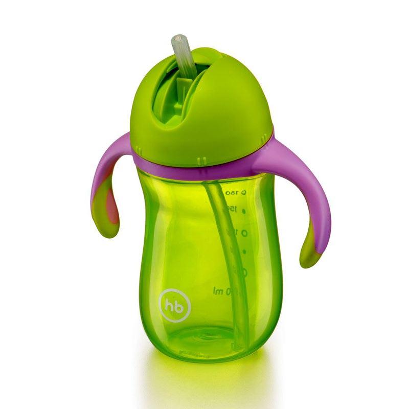 HAPPY BABY Поильник с клапаном STRAW FEEDING CUP (фото, вид 3)