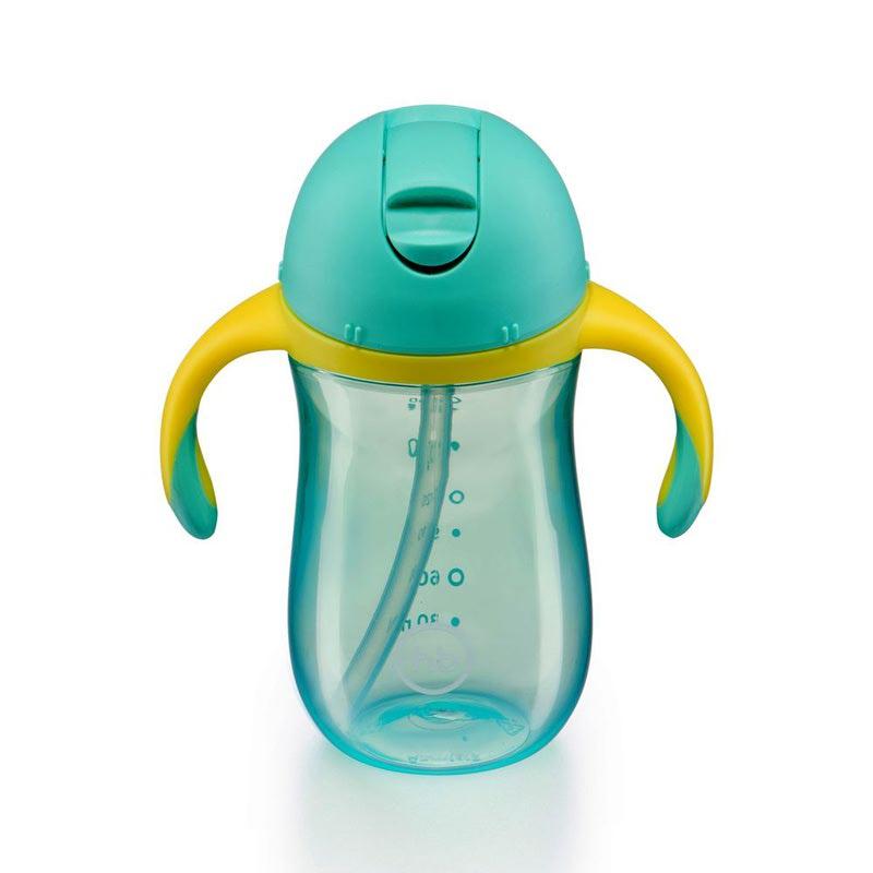 HAPPY BABY Поильник с клапаном STRAW FEEDING CUP (фото, вид 4)