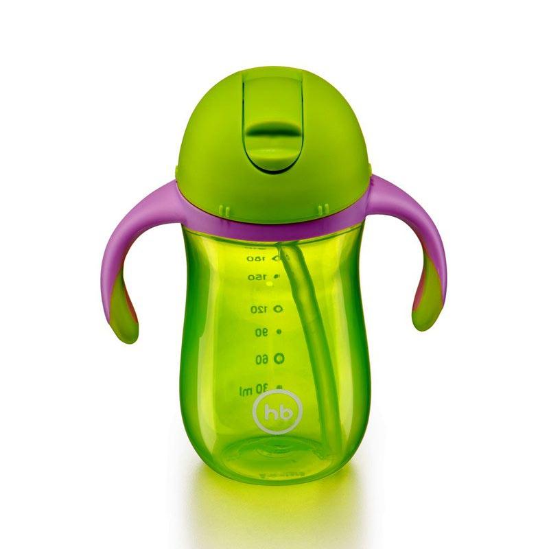 HAPPY BABY Поильник с клапаном STRAW FEEDING CUP (фото, вид 6)