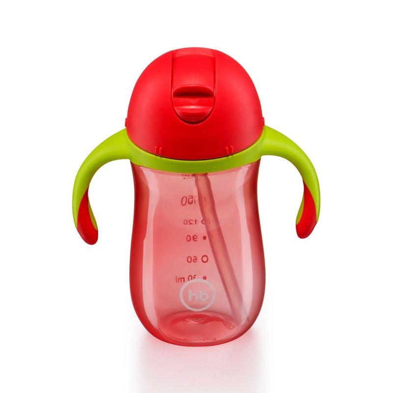 HAPPY BABY Поильник с клапаном STRAW FEEDING CUP (фото, вид 8)