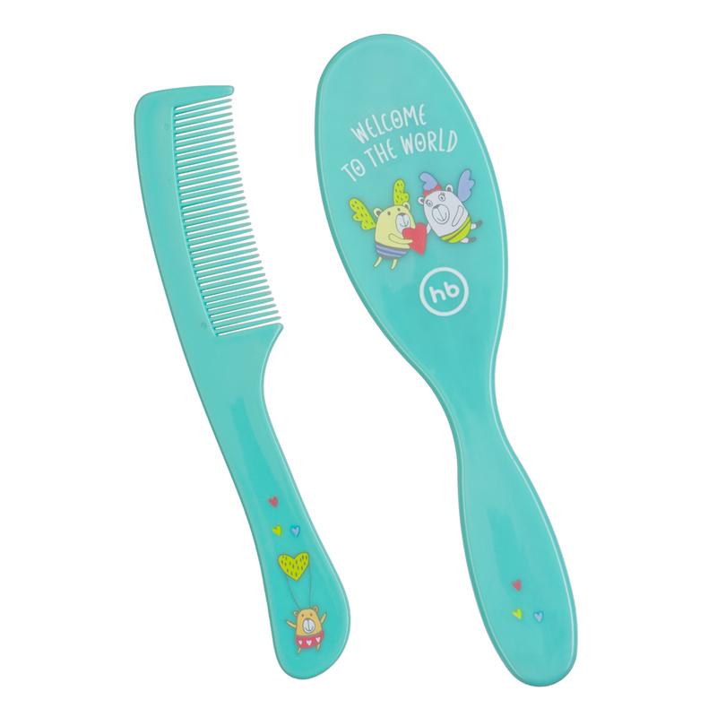 HAPPY BABY Набор детских расчесок HAIR CARE (фото, вид 12)