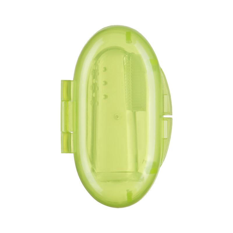 HAPPY BABY Зубная щетка на палец Tooth care (фото, вид 3)