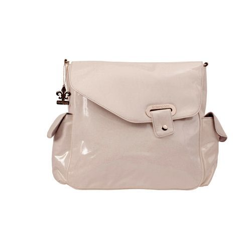 Kalencom Сумка для коляски New Flap Bag Irredescent Pattent (фото, вид 1)