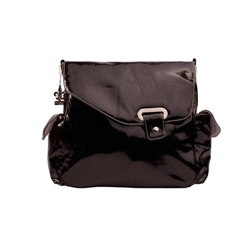 Kalencom Сумка для коляски New Flap Bag Irredescent Pattent (фото, вид 2)
