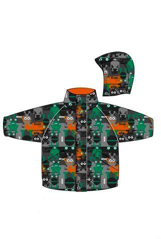 REIKE Комплект детский (куртка+полукомбинезон) UFO grey (фото, вид 1)
