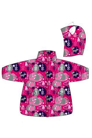 REIKE Комплект детский (куртка+полукомбинезон) FOX fuchsia (фото, вид 1)