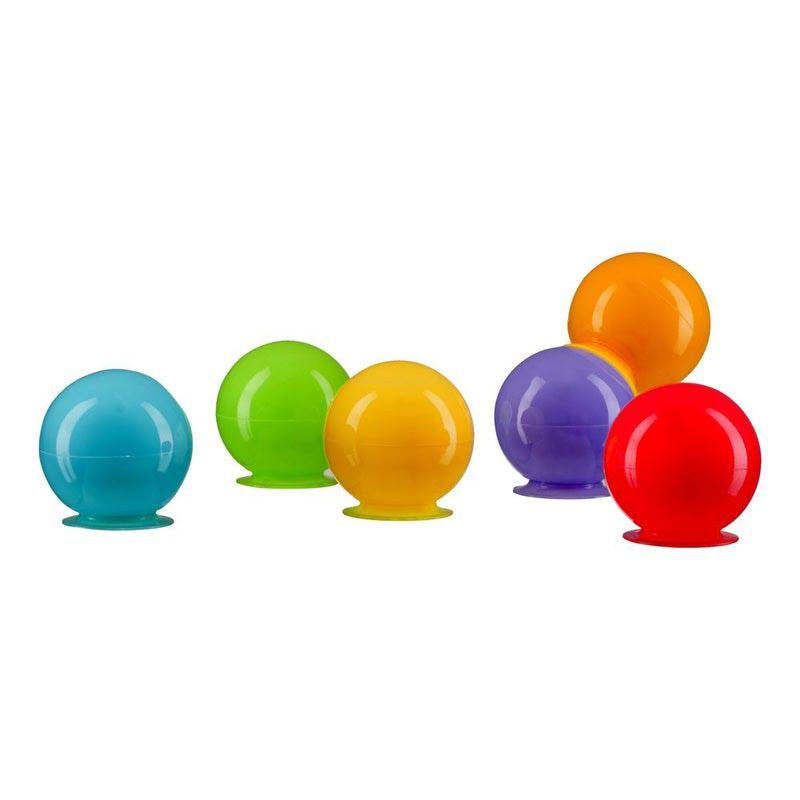 HAPPY BABY Набор игрушек для ванной IQBUBBLES (фото, вид 2)
