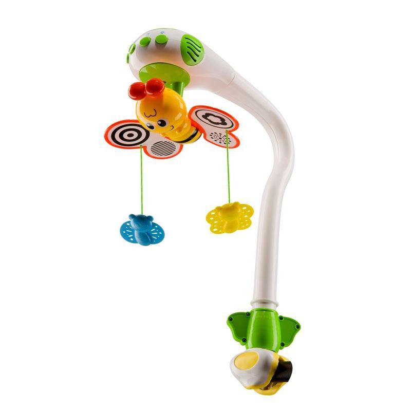 HAPPY BABY Музыкальный мобиль MAGIC BUTTERFLIES (фото, вид 1)