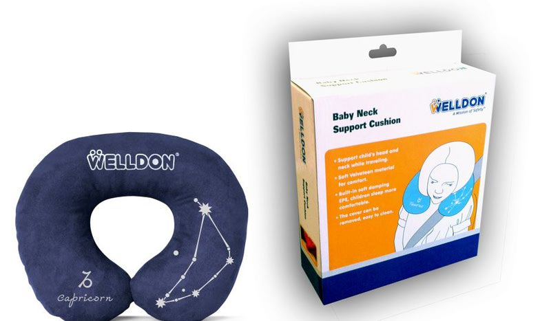Подушка WELLDON под шею (фото, вид 5)