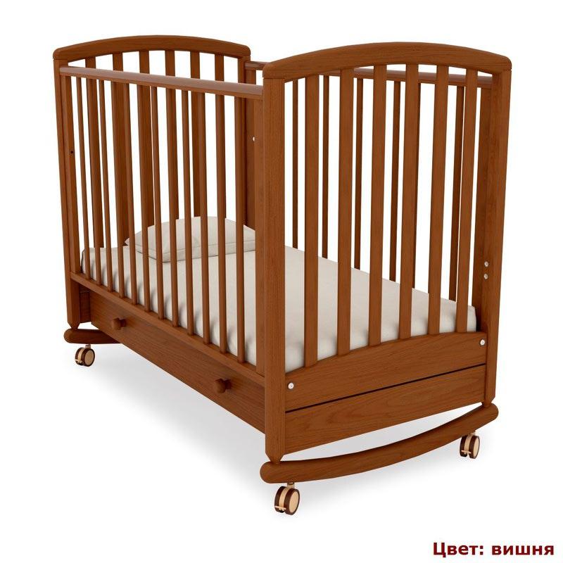 Кроватка GANDYLYAN Дашенька (качалка) (фото, вид 3)