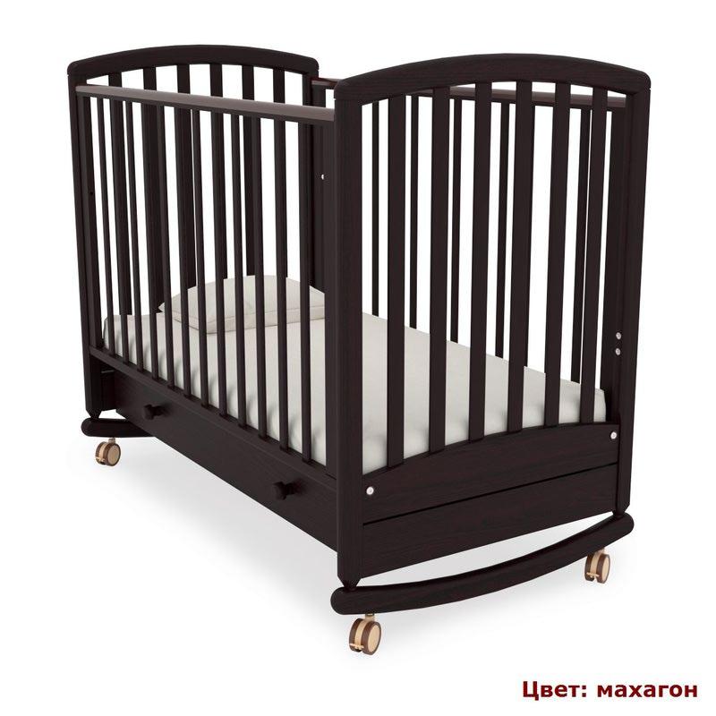 Кроватка GANDYLYAN Дашенька (качалка) (фото, вид 4)